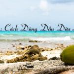 Ebook Cẩm Nang Chăm Sóc Da và Tóc bằng Dầu Dừa