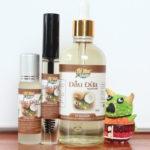 7 tác dụng của dầu dừa trong mùa hè
