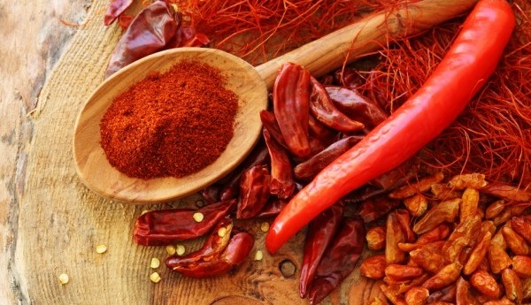 ớt và bột ớt