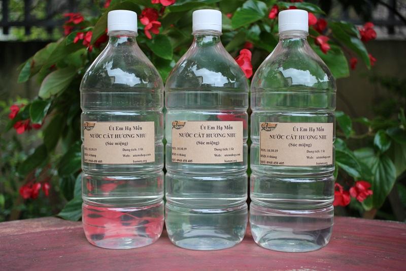 Nước cất hương nhu